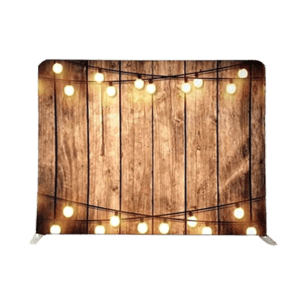 RUSTIC WOOD & LIGHTS