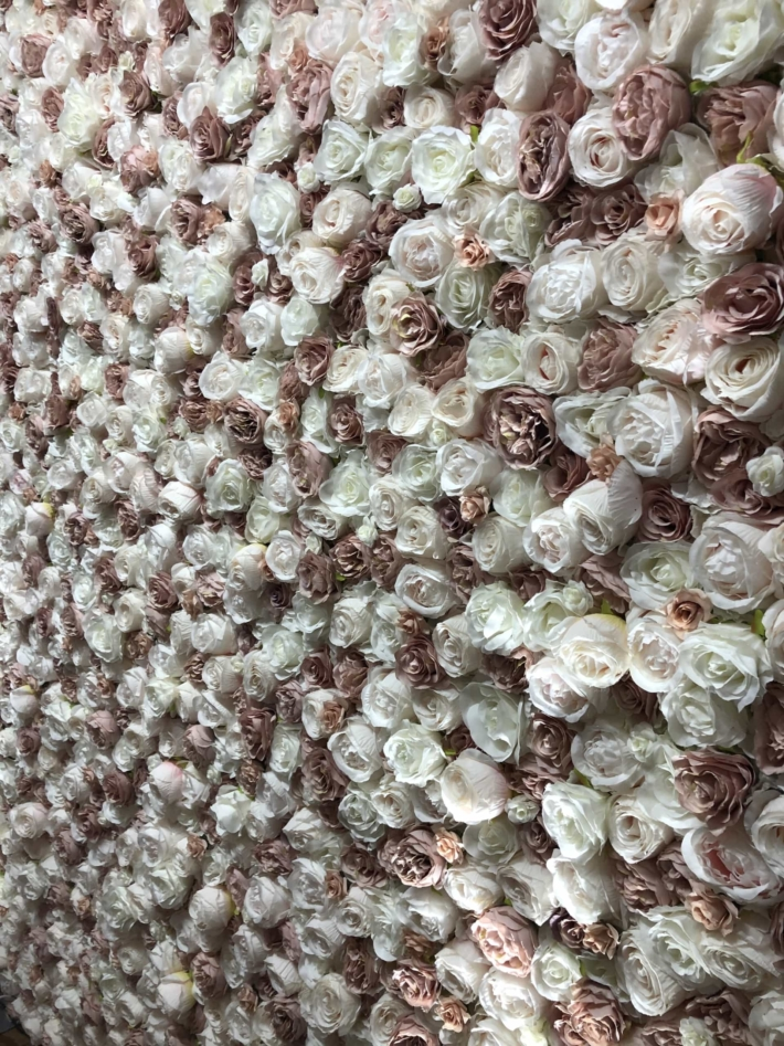Lush Blush Flower Wall